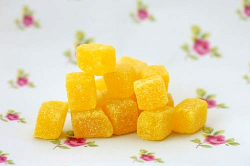 Pineapple cubes - 250g